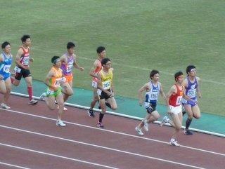 八種競技1500m