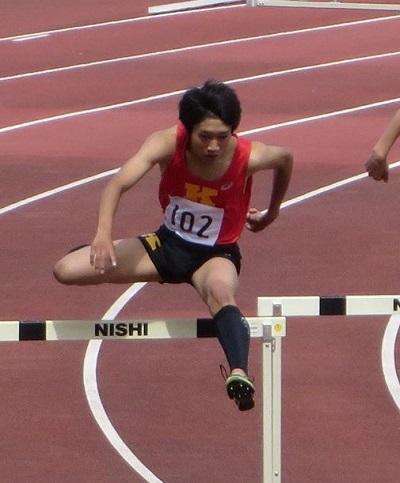 400mH決勝 武田凱6位