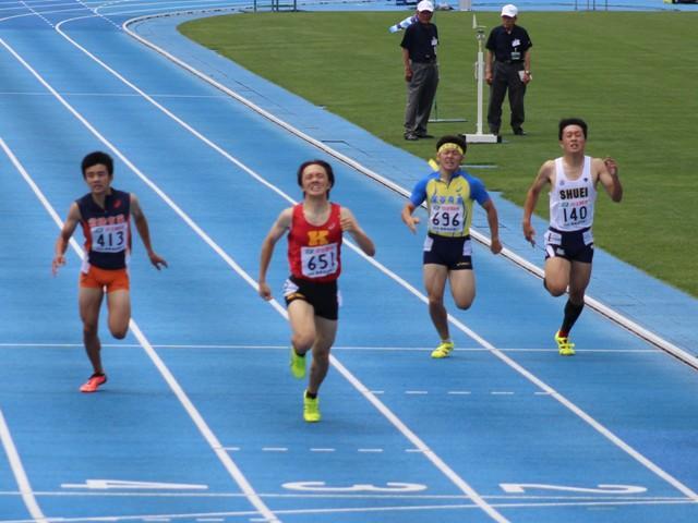 400m決勝レース