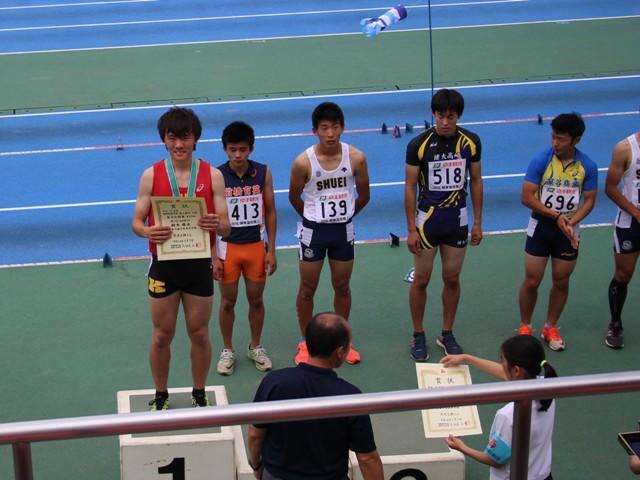 400m表彰式