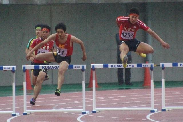 男子400mH武田凱
