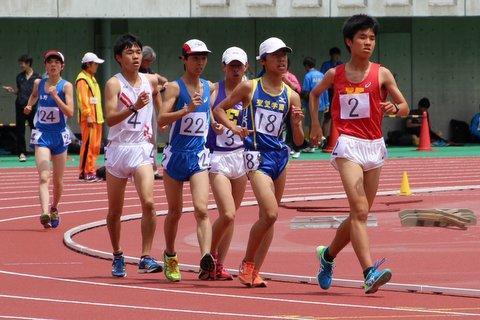5000m競歩 浅水丈拓