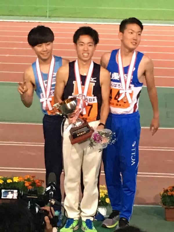 青木3000mSC優勝1